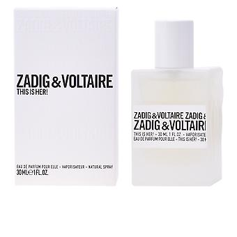 Zadig & Voltaire This Is Her! Edp Spray 30 Ml For Women