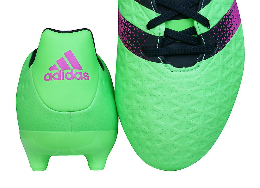 Adidas Ace 16.3 Fg / Ag Mens Football Boots Cleats - Green