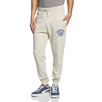 Jack and Jones Athletic CUFFED Exp White Sweat Pants