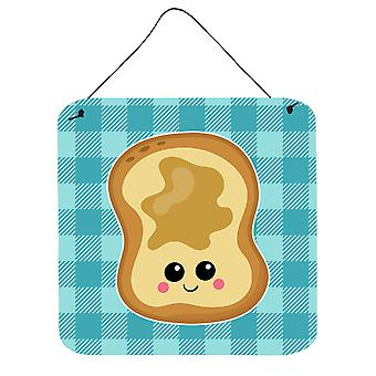 Carolines Treasures  BB6843DS66 Peanut Butter Toast Wall or Door Hanging Prints