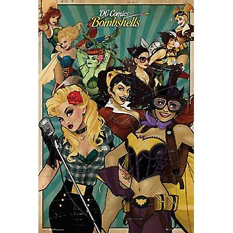 DC Comics Bombshells plakat plakat Print