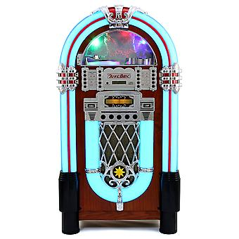 Jukebox Anni 50 - CD, USB, Memory Cards SD/MMC, Radio, Bluetooth e Aux