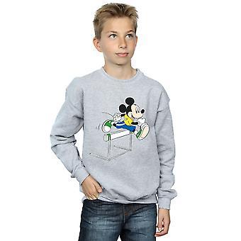 Disney Boys Mickey Mouse Hurdles Sweatshirt