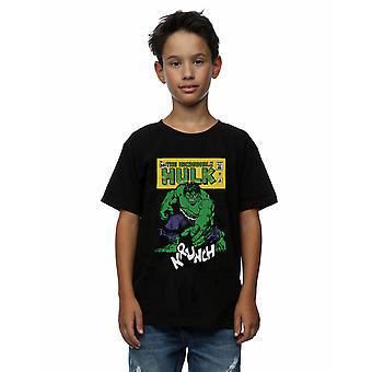 Marvel Boys Hulk krunch T-paita