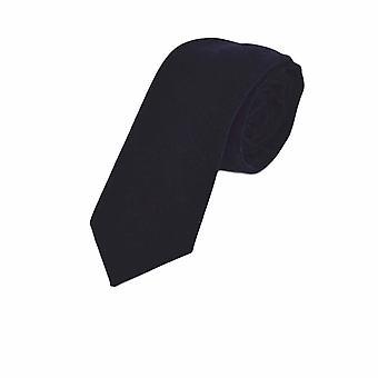 Cravatta di lusso velluto blu Navy