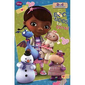 Doc McStuffins - Boo boegeroep worden gegaan Poster afdrukken