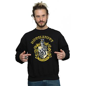 Harry Poufsouffle Crest Sweatshirt Potter masculine