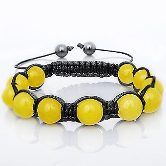 Marcrame unisex armband - gul sten