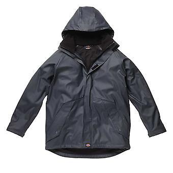 Dickies Mens Workwear Raintite Jacket Navy Blue WP50000N
