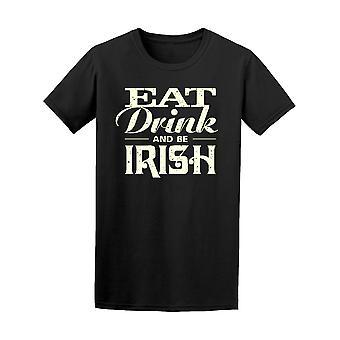 Syö juo ja Irlannin Vintage Tee miehiä-kuva: Shutterstock