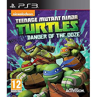 Teenage Mutant Ninja Turtles fara för Ooze (PS3)-fabriken förseglad