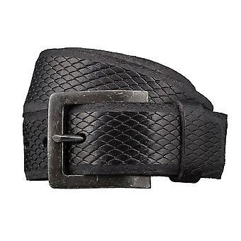 LLOYD Men's belt belts men's belts leather belts men's leather belts black 3422