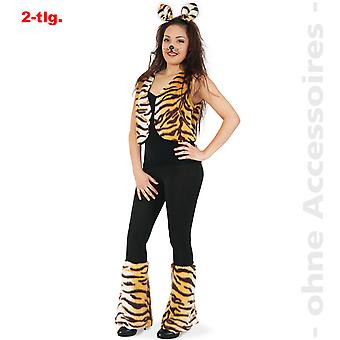 Tiger costume ladies Tiger Lady wild cat set Cat Lady costume