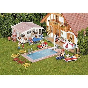 Faller 180542 H0 Swimming pool and garden house
