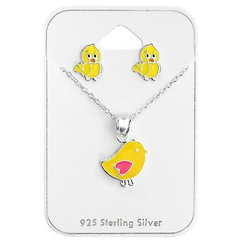 Chicken - 925 Sterling Silver Sets - W28976x