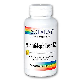 Solaray Mightidophilus12 10 billones 30 Vcaps