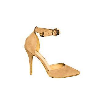 IKRUSH Womens Nara Suede Effect Stiletto Heels