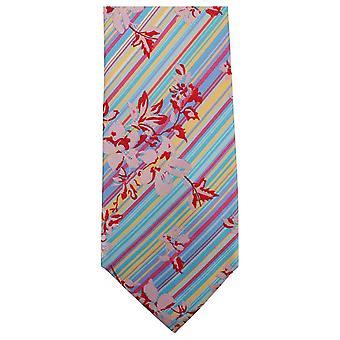 Knightsbridge Neckwear Unique Tie Floral - vert/bleu/rouge