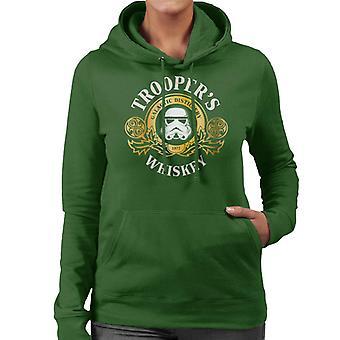 Original Stormtrooper Galactic Distillery Whiskey Women's Hooded Sweatshirt