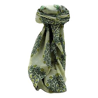 Mulberry Silk Contemporary Square Scarf Floral F231 by Pashmina & Silk