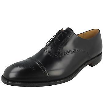 Mens Loake Formal renda acima do Brogue sapatos Oban