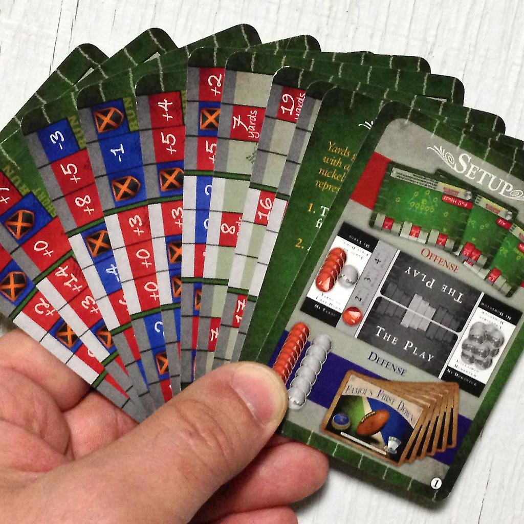 Fotboll Card Game - Famous First Downs