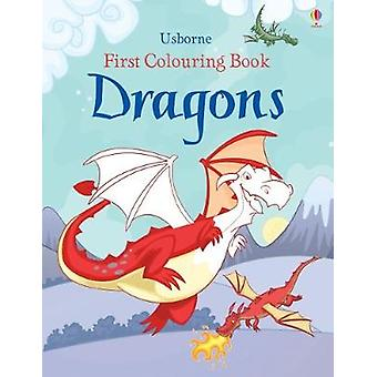First Colouring Book Dragons by Jessica Greenwell - Andy Elkerton - 9