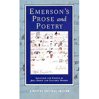 Emerson's Prose and Poetry by Ralph Waldo Emerson - 9780393967920 Book
