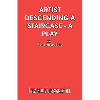 Kunstenaar Descending a Staircase (waarnemend editie)