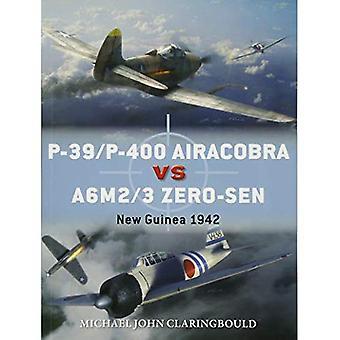 P-39/P-400 Airacobra vs A6M2/3 noll-sen