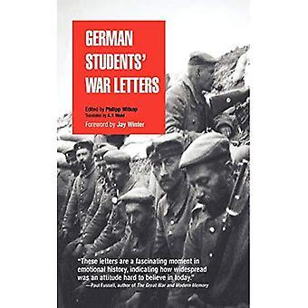 Deutsche Studierende Krieges Buchstaben (Pine Street Bücher)