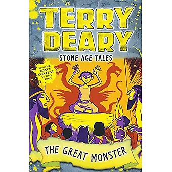 Stone Age Tales: The Great� Monster (Terry Deary's Historical Tales)
