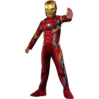 New Iron Man Child Costume