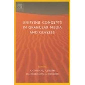 Samlande begrepp i granulat Media och glasögon från statistiska mekaniken i granulat Media till teorin av störning av Coniglio & Antonio