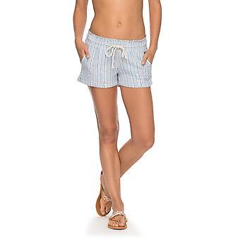 Roxy Womens Oceanside Shorts YD - Blue Shadow Wabi Sabi