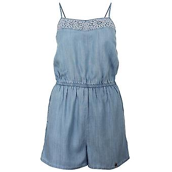 Superdry tess women's vacation blue playsuit