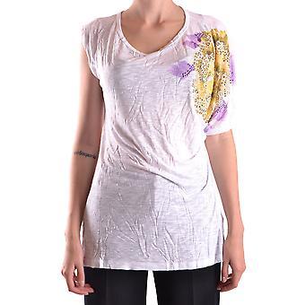 Blugirl Folies Ezbc208002 T-shirt Viscose blanc