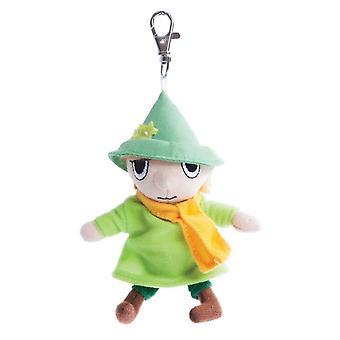 Moomins Snufkin 4 Inch Plush Key Clip