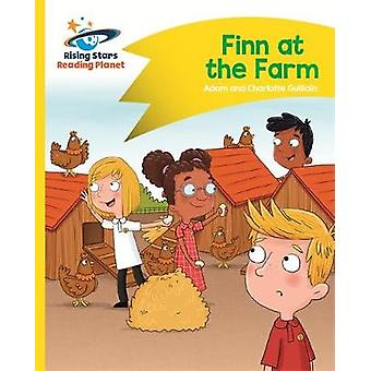 Reading Planet - Finn at the Farm - Yellow - Comet Street Kids by Adam