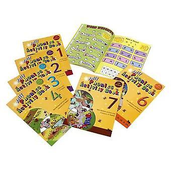 Jolly Phonics Activity Books - Set 1-7 by Sue Lloyd - Sara Wernham - 9