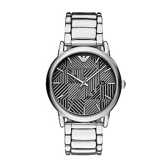 Emporio Armani Ar11134 Silver Stainless Steel Bracelet Men's Watch