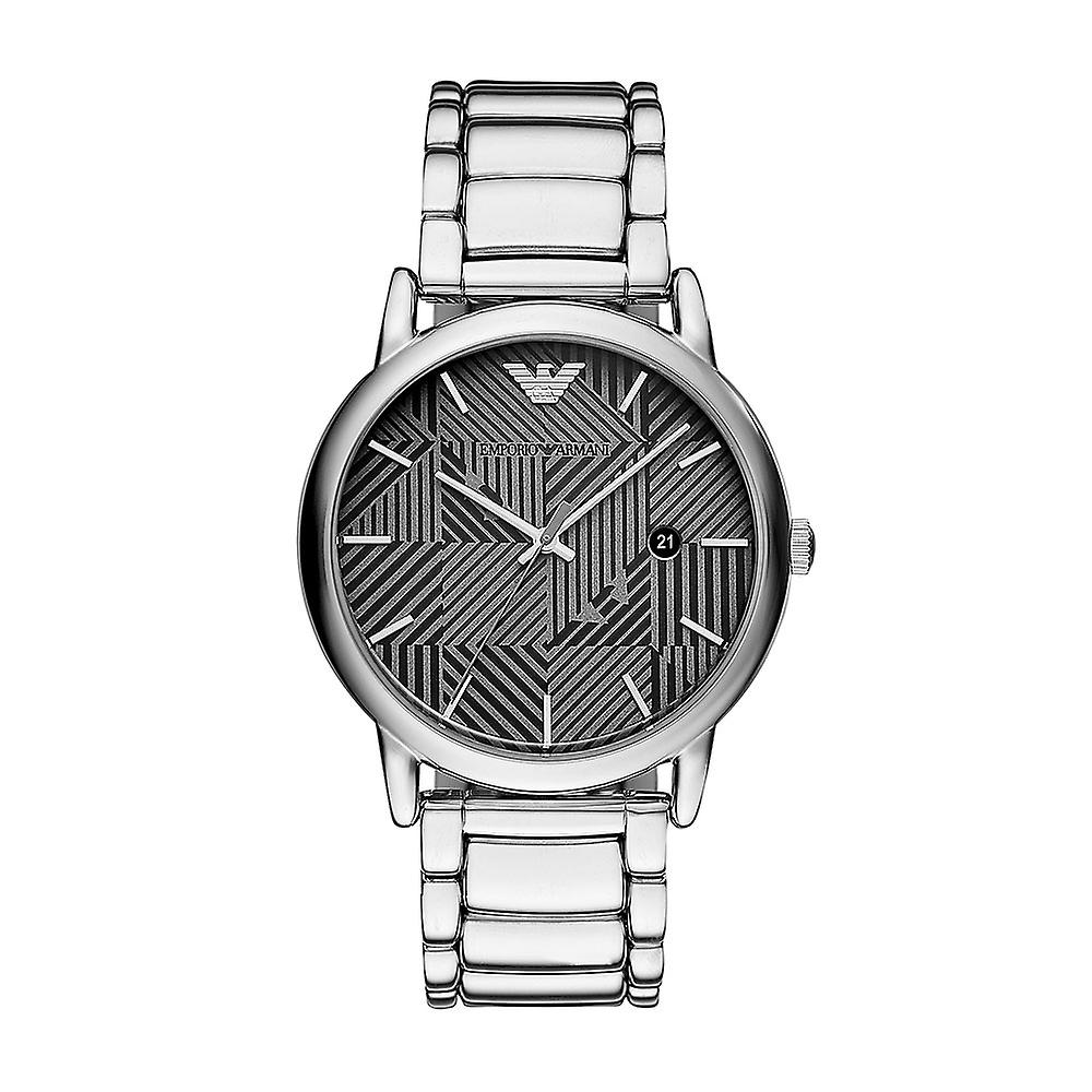 Emporio Armani Ar11134 Silver Stainless Steel Bracelet Men's Watch