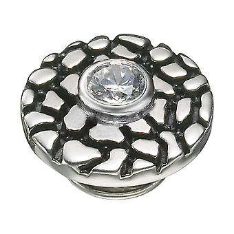 KAMELEON Silver Crackle Pop Sterling Silver JewelPop KJP480
