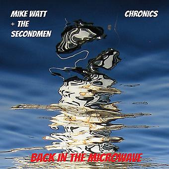 Mike Watt + the Secondman & Chronics - Microwave Up in Flames B/W I Backed Up I [Vinyl] USA import