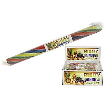 Förpackning med 20 medium smaksatt Rock Sticks-fruktig Rainbow