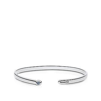 The University of Alabama Sapphire Cuff Bracelet In Sterling Silver Design by BIXLER
