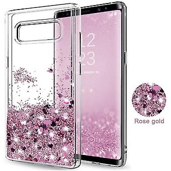 Galaxy S8-Liquid Glitter 3d Bling Shell Case