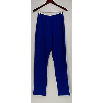 Susan graver vrouwen ' s broek Essentials Lustra Knit pull op blauw A285514