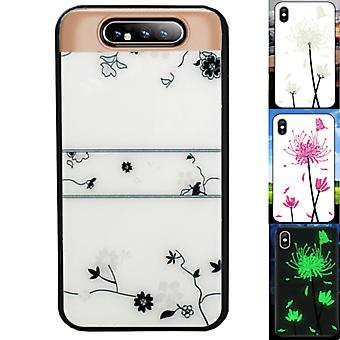 BackCover Magic Glass voor Samsung A80 - A90 Roos