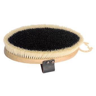 Superior Pure Bristle Body Brush Leather Strap